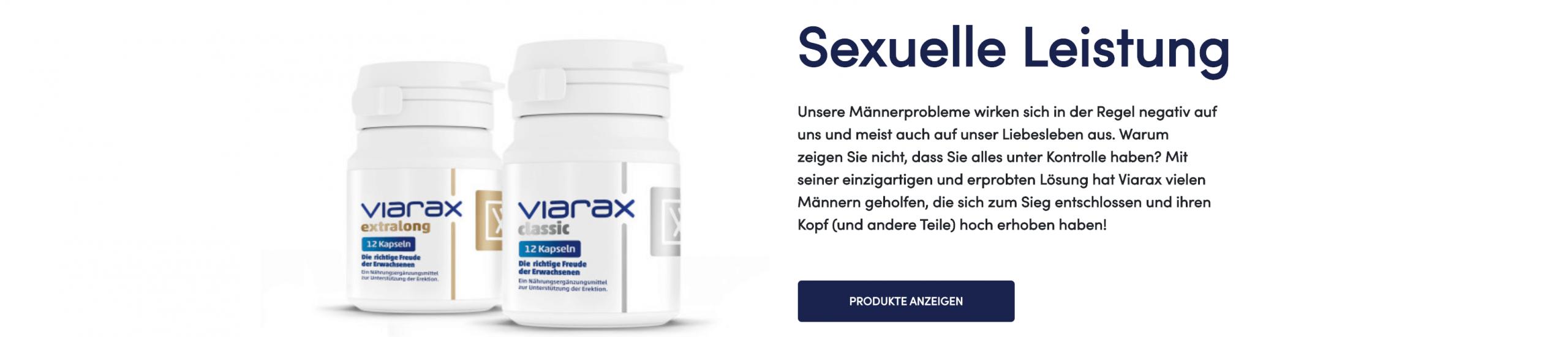 Viarax Homepage